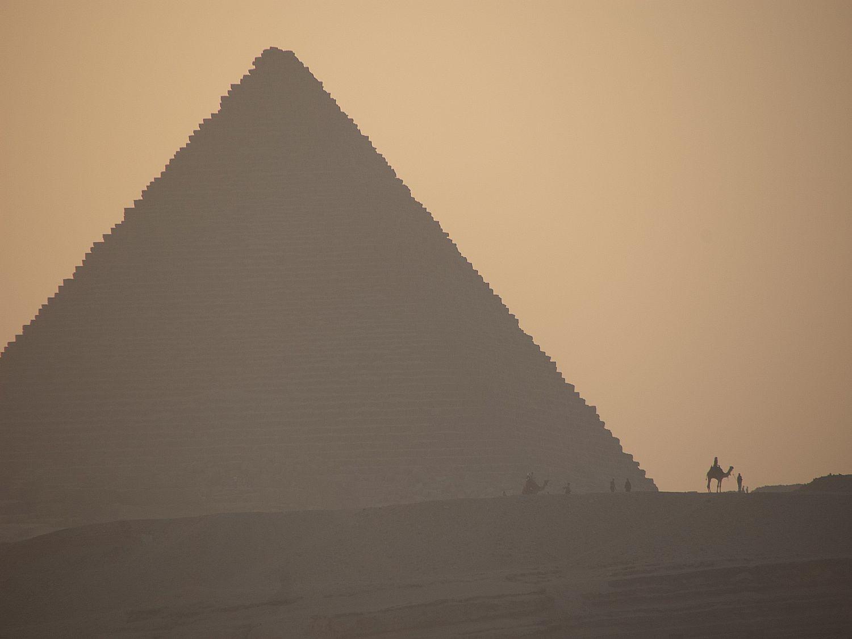 Sarcofaag in Piramide Gizeh
