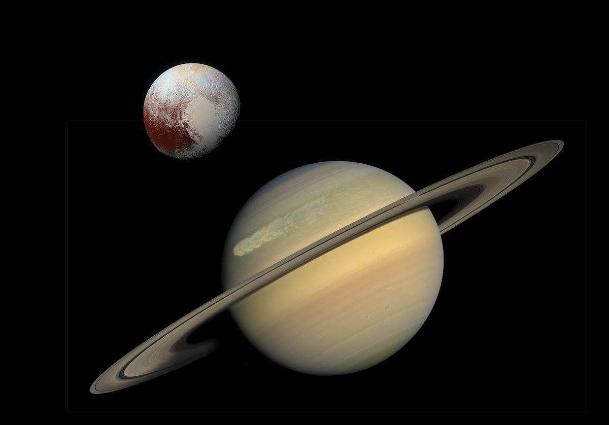 De dans van Pluto