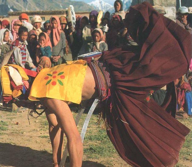 de buzhen lama's in Pin Valley