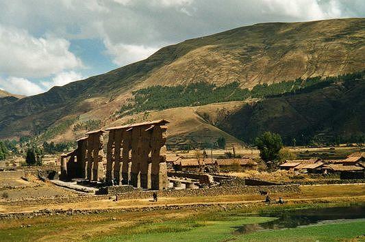 Raqchi tempel in Peru
