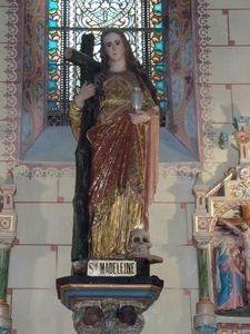 Maria Magdalena in kerk Rennes le Chatteau